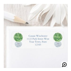 Return Address Labels For Elegant Lady