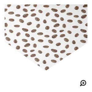 Coffee Beans Tissue Paper or Wrapping Paper